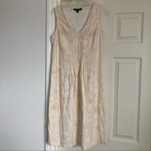 Chadwicks V-Neck Dress